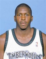 Felipe Lopez while playing for the Timberwolves